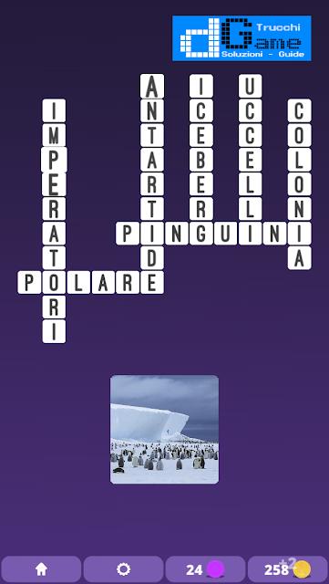 Soluzioni One Clue Crossword livello 11 schemi 9 (Cruciverba illustrato)  | Parole e foto