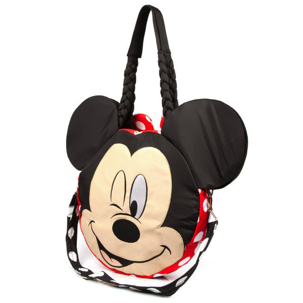 irregular choice disney why hello bag mickey face