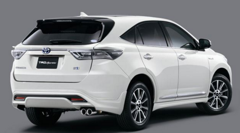 2017 Toyota Harrier Hybrid Review
