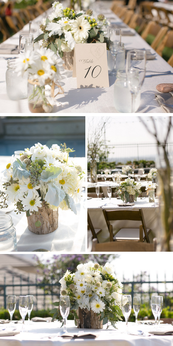 vintage country chic wedding from intertwined events   britt rene photo   jenny b floral design