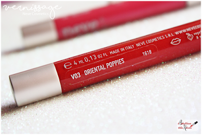 Oriental Poppies  VERNISSAGE Natural Gloss -  Neve Cosmetics