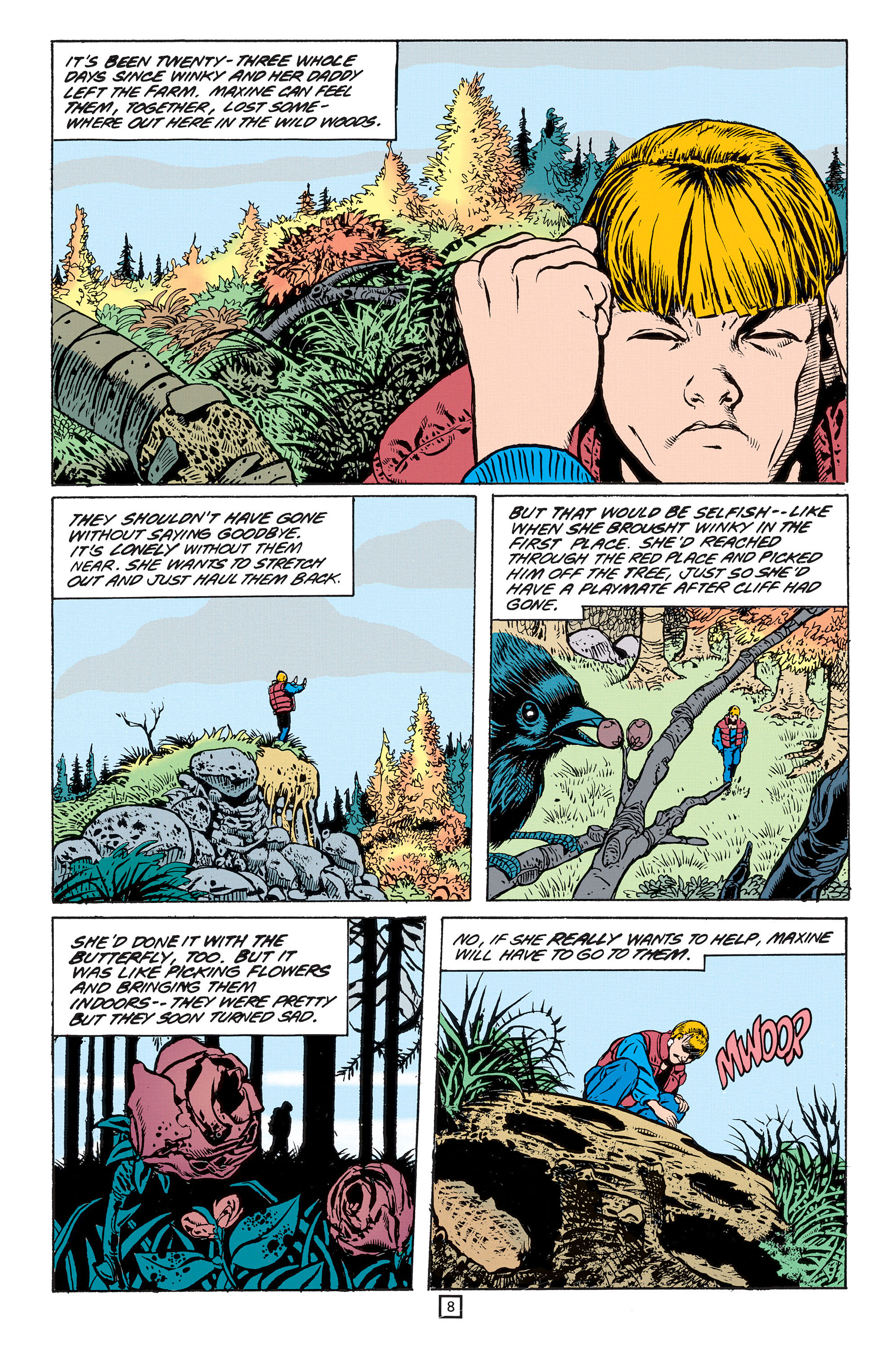 Read online Animal Man (1988) comic -  Issue #55 - 9