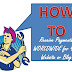 HOW TO ... RECEIVE PAYMENTS WORLDWIDE FOR YOUR BLOG OR WEBSITE