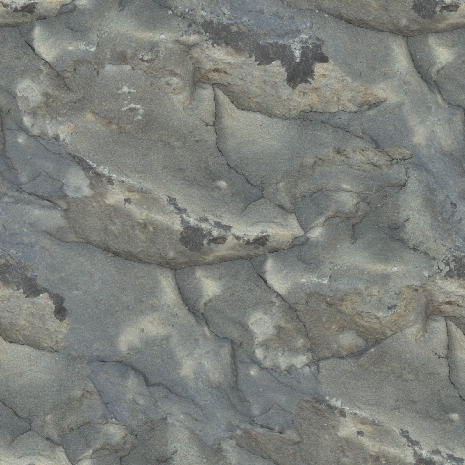 Rock face wall mountain seamless texture 2048x2048