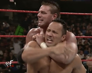 WWE / WWF No Mercy 1999 -  The British Bulldog battles The Rock