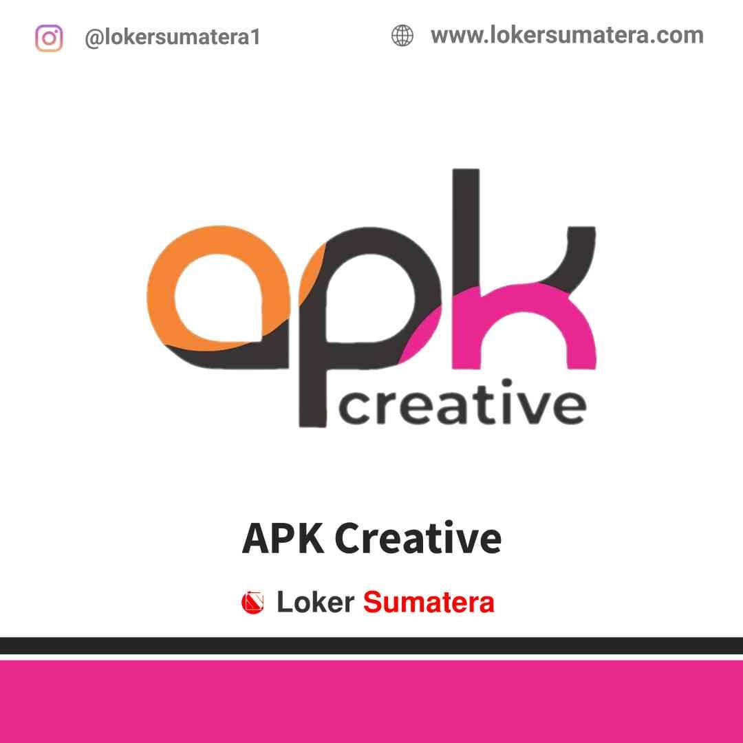 Lowongan Kerja Pekanbaru, APK Creative Juli 2021