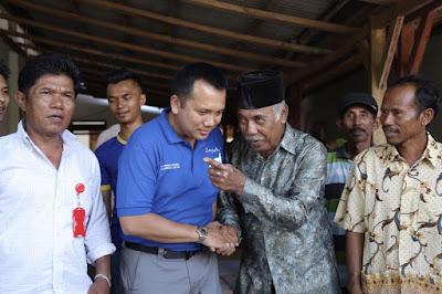 Muhammad Ridho Ficardo Dengarkan Aspirasi Petani Batanghari Nuban