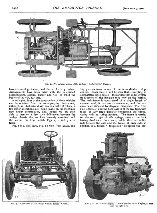Rolls-Royce 10 hp Type A review - 2