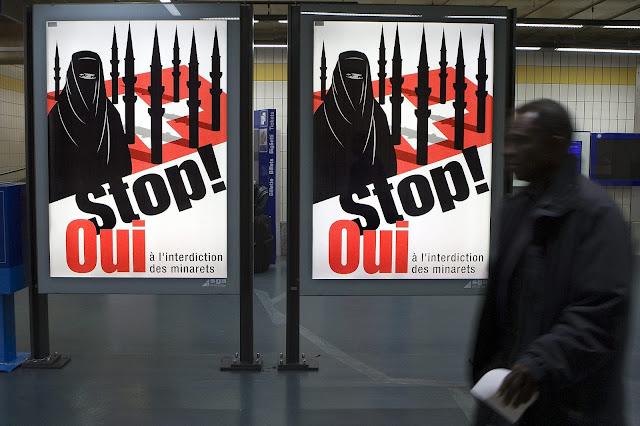"""Território suíço aprova a proibição da burca islâmica e é acusado de """"islamofobia"""""""