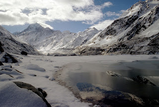 new zealand, icy mountains