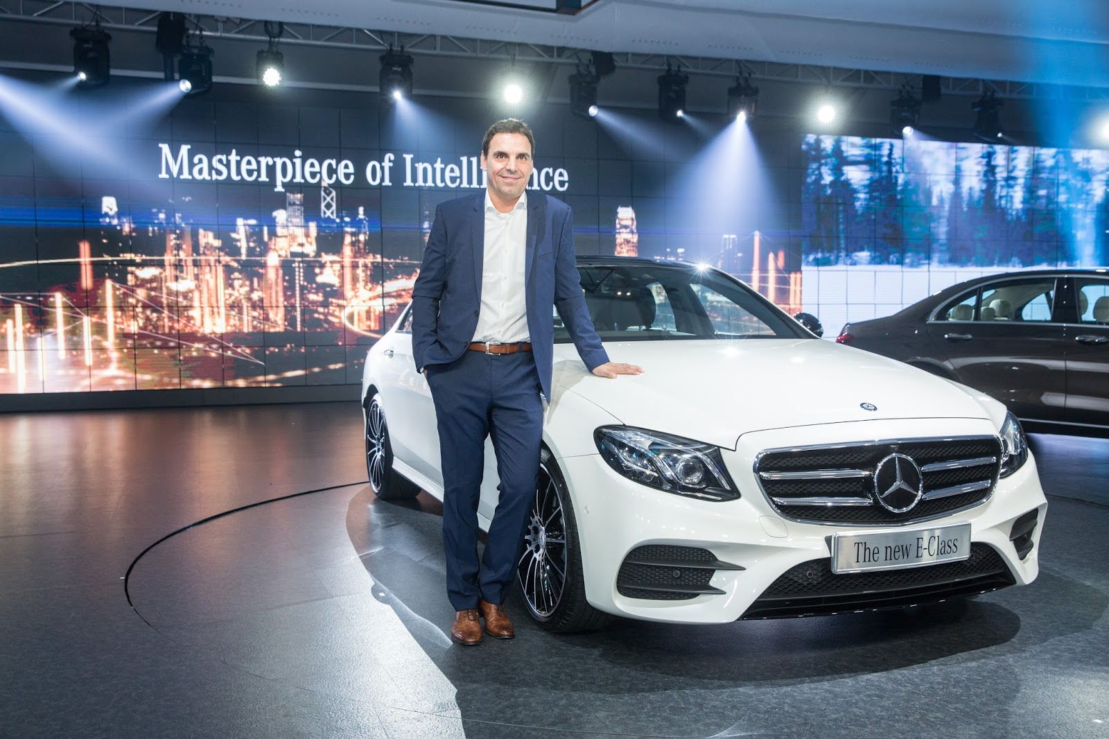 Mercedes benz launches the masterpiece of intelligence e for Mercedes benz greenway staff