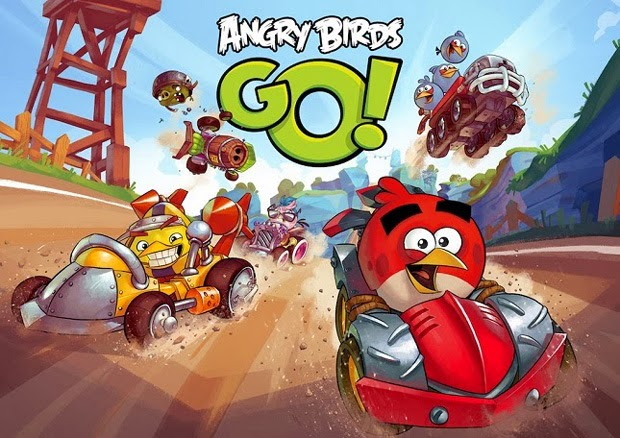 Angry Birds Go! racing game from Rovio