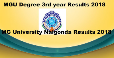Manabadi MGU Degree 3rd year Results 2018, MG University final year Results 2018 Schools9