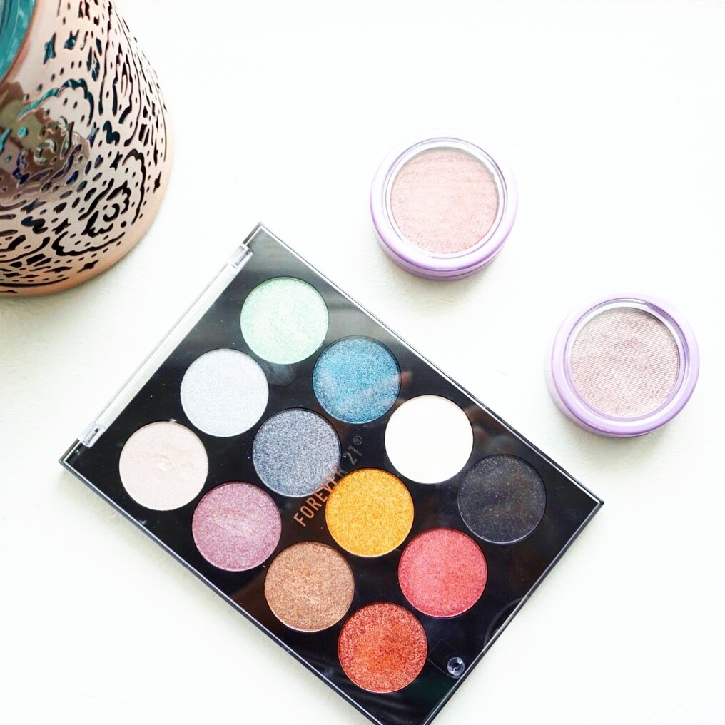 forever 21 eyeshadow review with swatches eye shadow