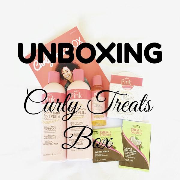 UNBOXING CURLY TREATS BOX No4
