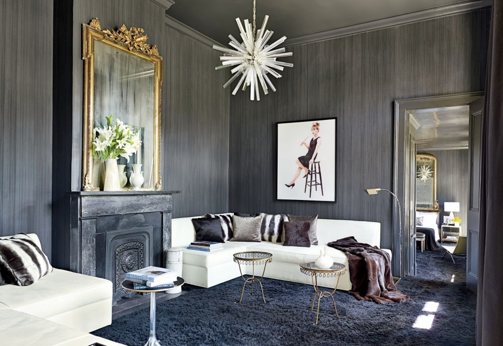 What Decorating Colors Go Well With Gray Walls In A Living