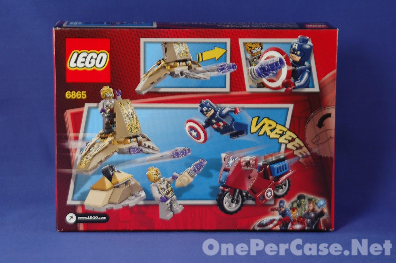 One Per Case: One Per Case Review: Lego set 6865 Captain ...