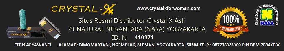Jual Crystal X Asli NASA