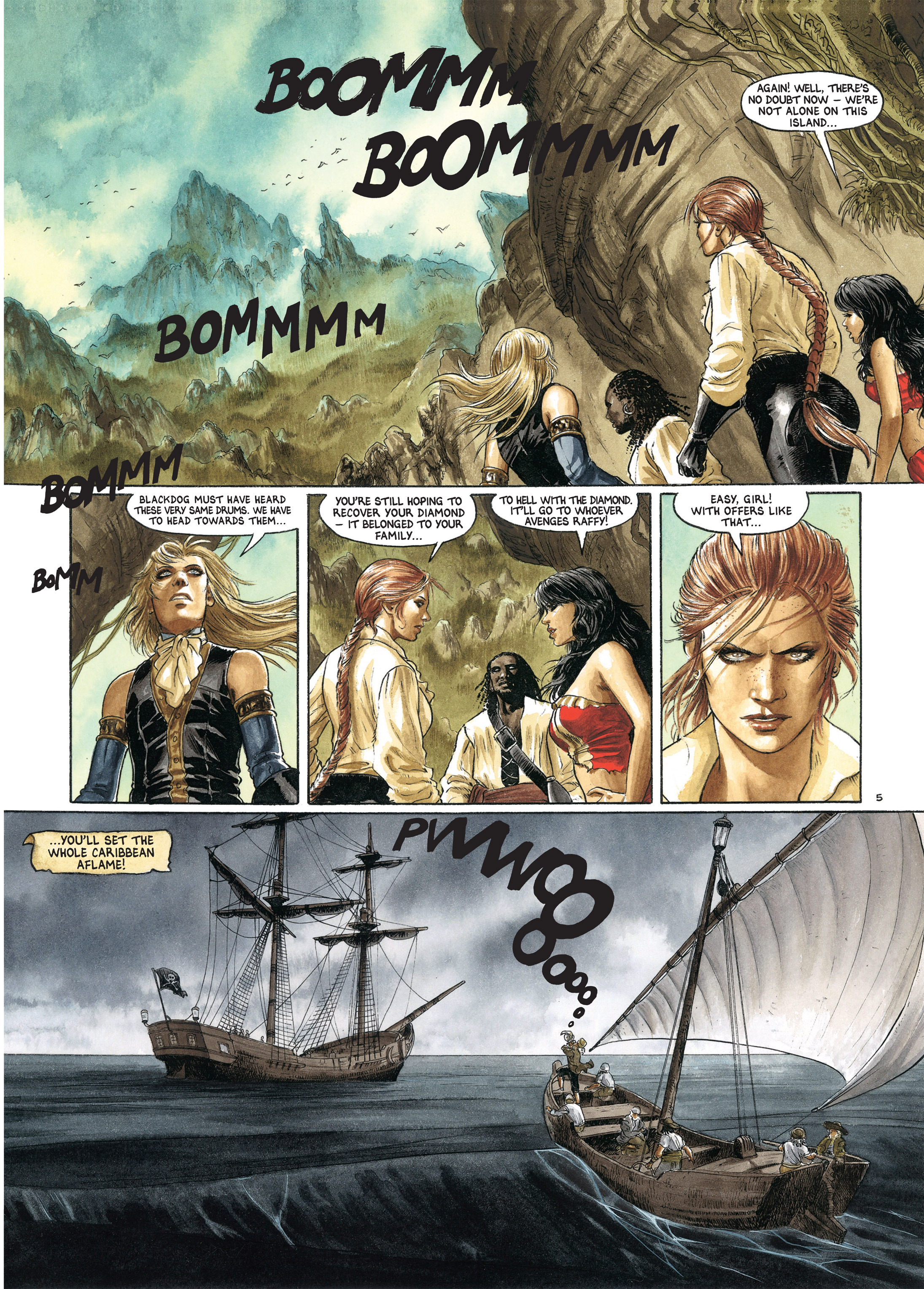 Read online Barracuda comic -  Issue #4 - 64