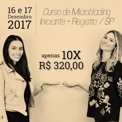O curso de Microblading Iniciante da Permanent Make Up You estará no interior de São Paulo em dezembro