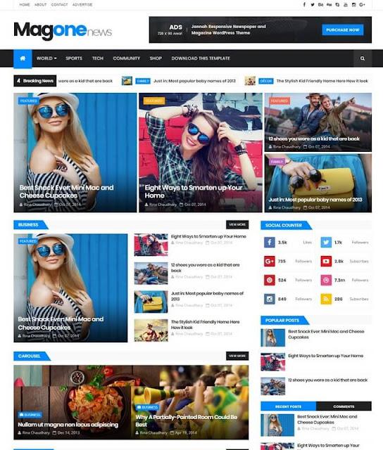 Seo Ads Ready Blogspot Themes