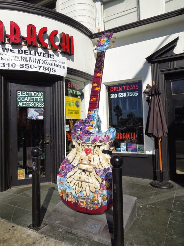Prince GuitarTown homage Sunset Strip