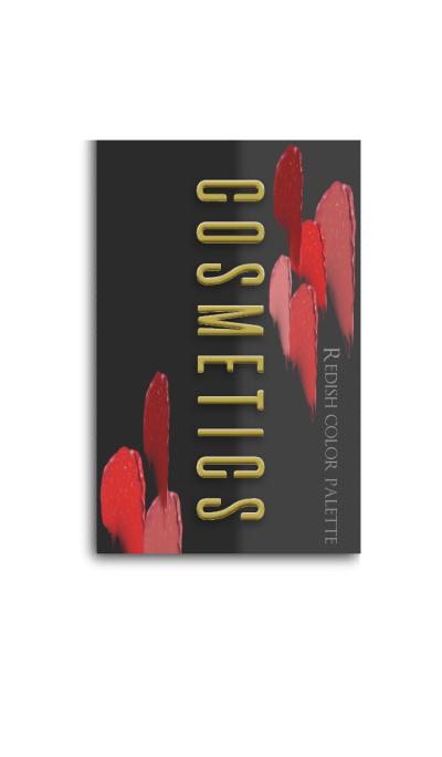 COSMETICS -Redish color parette-