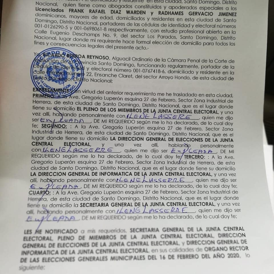 Hugo Beras renuncia como candidato a alcalde por el PRD