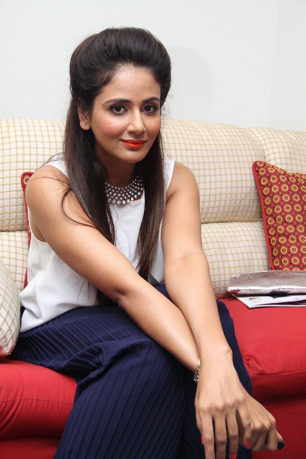 Parul Yadav Photos In White Dress