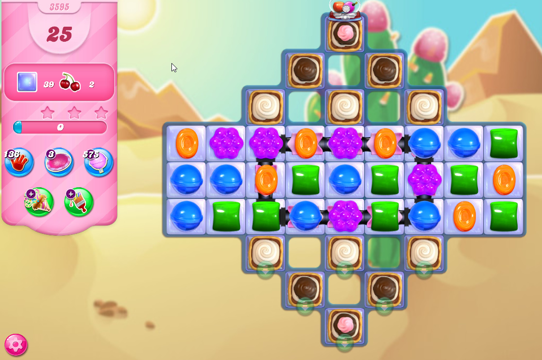 Candy Crush Saga level 3595