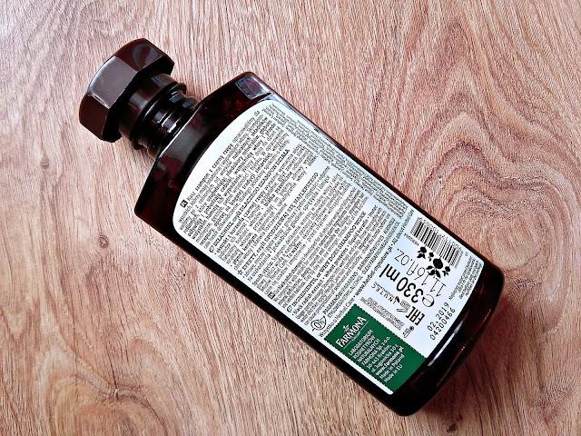 Farmona, Herba Care - Szampon Czarna Rzepa do włosów wypadających, opis opakowania