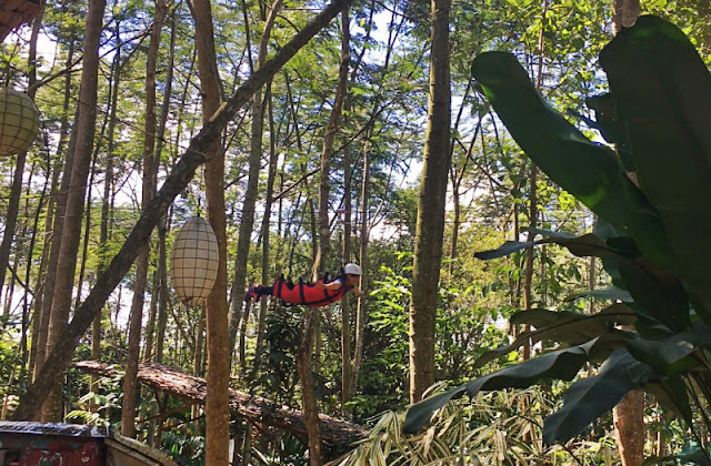 kampojuan zipline is one of the things you can do in bukidnon in manolo fortich