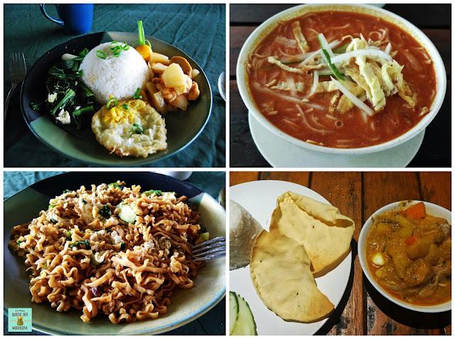 Comida en Malaysia