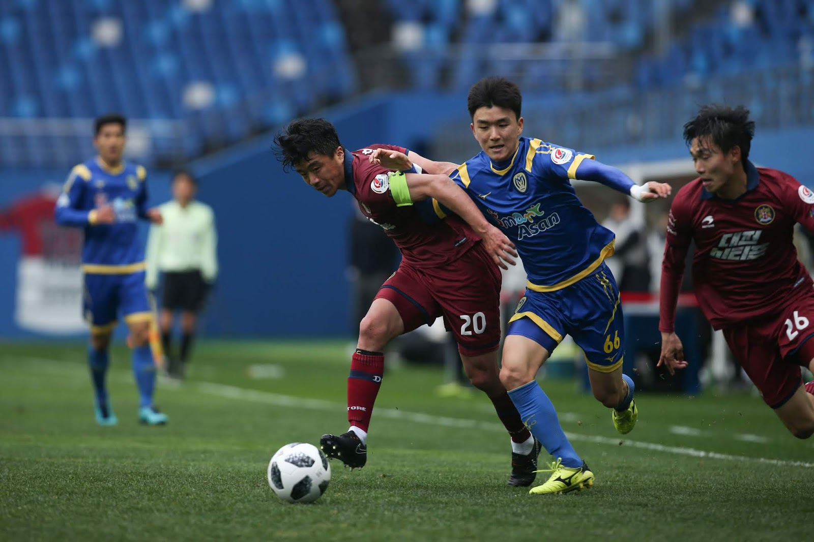 One to Watch: Hwang Inbeom Asan Mugunghwa vs Daejeon Citizen K League 2 Round 12