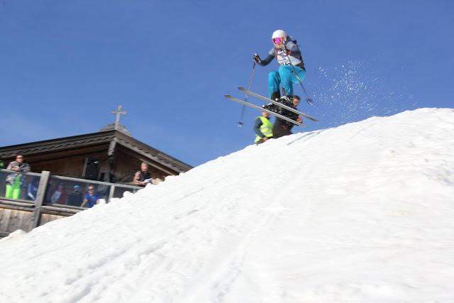 Freeride Skirennen Salzburg, Österreich