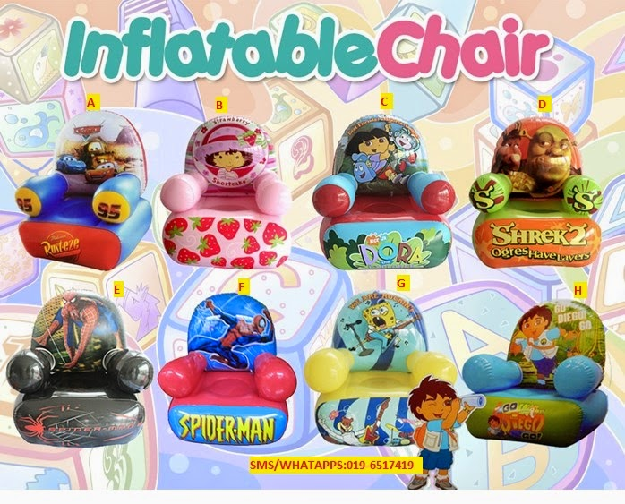 LITTLE KIDS WEAR: MURAH!!! INFLATABLE CHAIR
