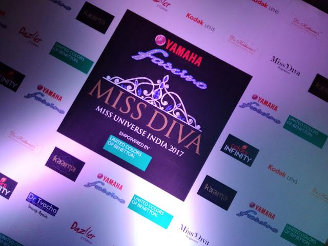 Yamaha Fascino Miss Diva Miss Universe India 2017