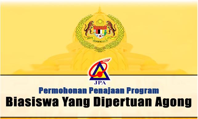 Permohonan biasiswa JPA -  Yang Dipertuan Agong (BYDPA) untuk pelajara Malaysia