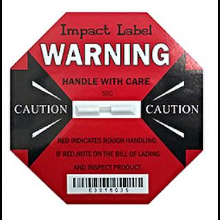 Nhãn cảnh báo chống va đập