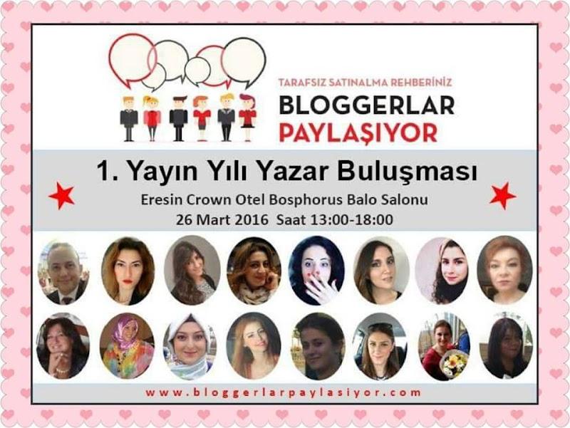 Bloggerlar Paylaşıyor 1 Yaşında