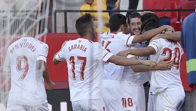Crónica Sevilla FC 3 - Eibar 0