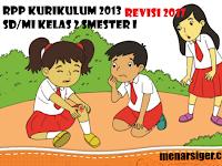 RPP SD/MI Kurikulum 2013 Revisi 2017 Kelas 2 Smester 1