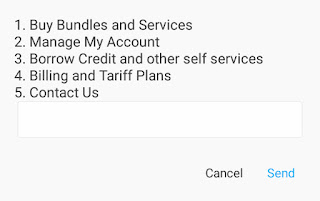 how to know your airtel line
