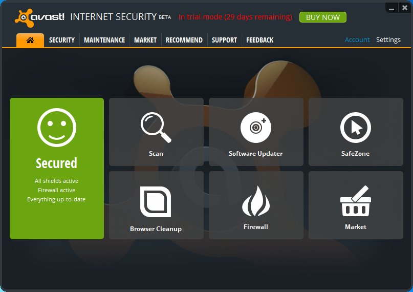 How to update your avast! Antivirus to version 2019.