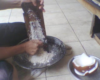 Cara Membuat Santan Nasi Pundut Khas Kalimantan Selatan-Resep Enak Lezat