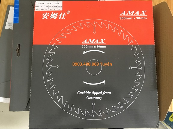 Lưỡi cưa hợp kim Amax China
