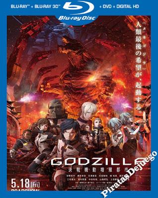 Godzilla: Ciudad al Filo De La Batalla (2018) HD 1080P Latino