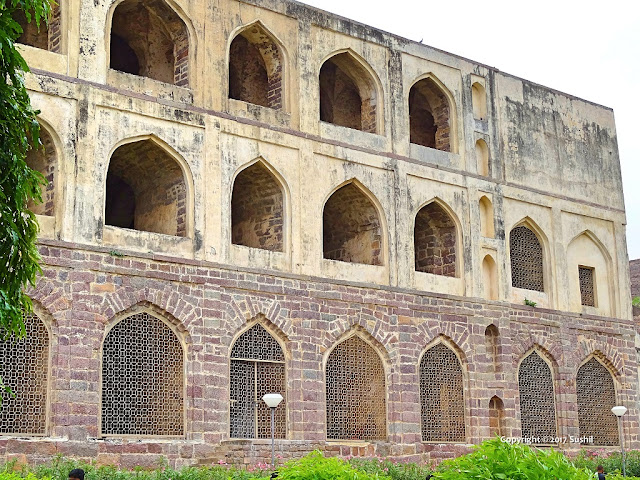 Three Stories Building used as the Ammunition Store, Golkonda Fort, Hyderabad