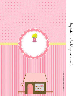 Girls Bakery: Free Printable Invitations.