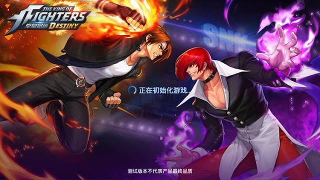 The King of Fighters Destiny Como Baixar E JOGAR APK+OBB